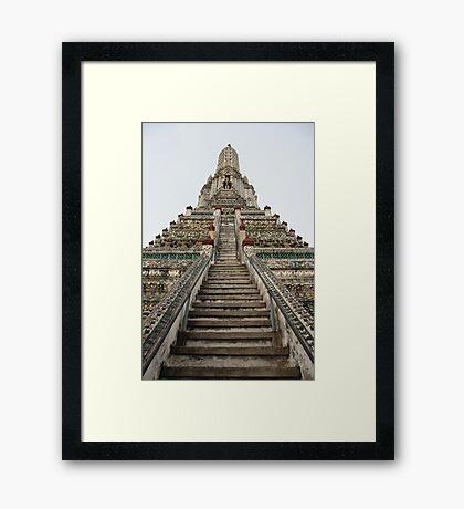 Wat Arun, Bangkok Framed Print