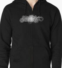 Doctor's name Zipped Hoodie