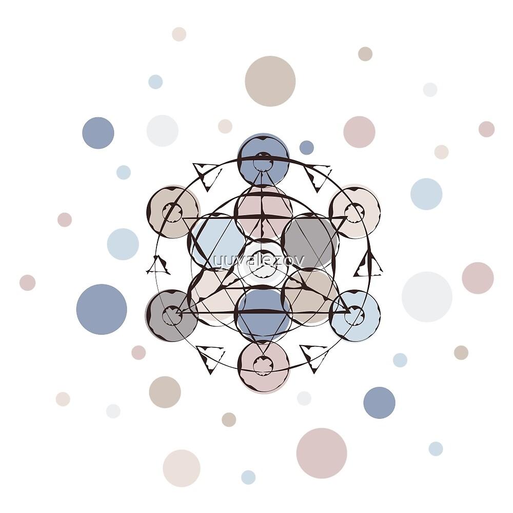 Triangle Circle Mandala by yuvalezov