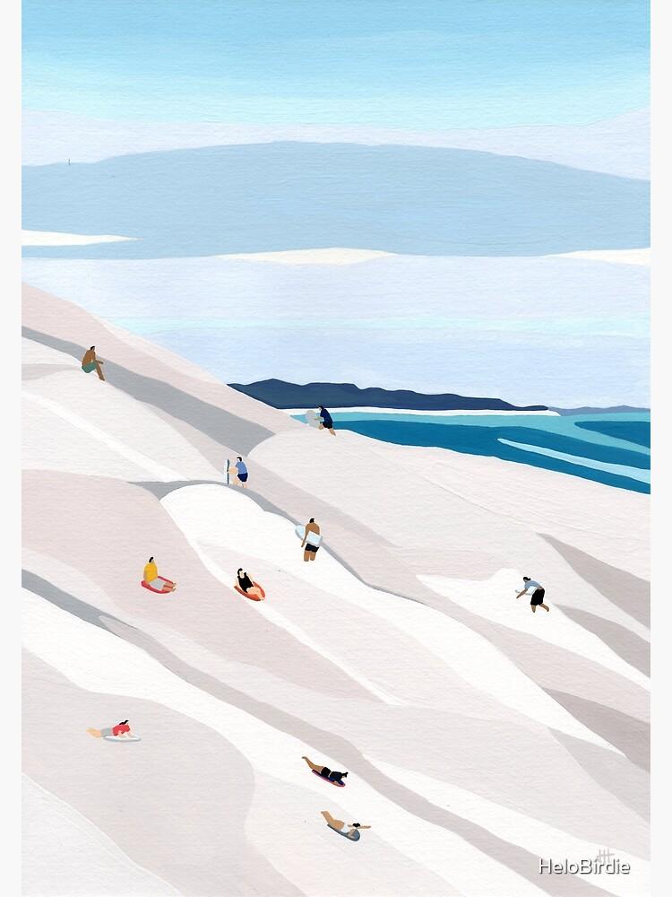 Sand dunes by HeloBirdie