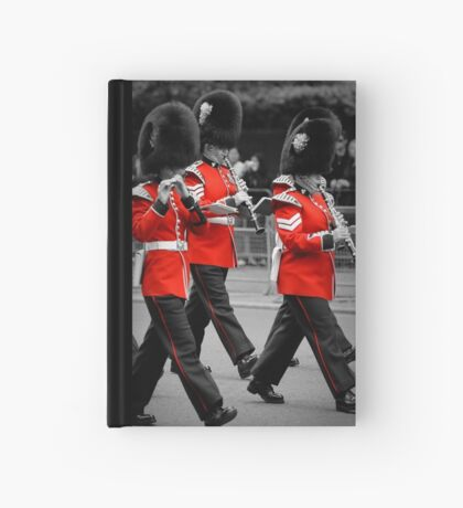 Queen's Guards Band: Trooping the Colour, London. Hardcover Journal
