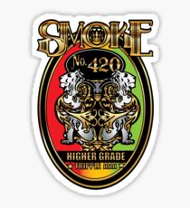 Smoke No. 420 Sticker