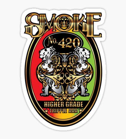Smoke No. 420 Sticker