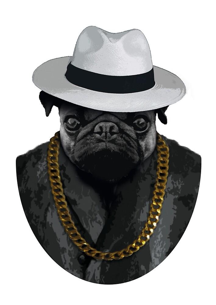 Pug Life by schakalaka