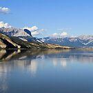 Jasper Lake, Jasper NP, Alberta, Canada by Teresa Zieba
