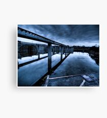 Death to abandoned #9 Canvas Print
