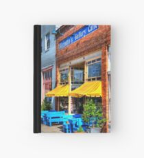 Quaint Caffe Hardcover Journal
