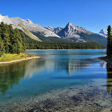 Maligne Lake, Jasper NP by tenia115