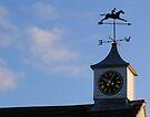 Clock and Weathervane by Carol Bleasdale