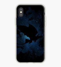 How to train your dragon - Toothless and Hiccup night iPhone Case