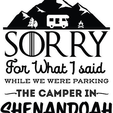 Shenandoah National Park Virginia Hiking Camping Gift by NationalParksCo