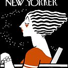 NEW YORKER : Vintage 1935 Magazine Cover Print by posterbobs