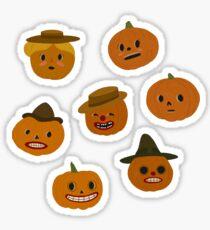 Pumpkin People Sticker