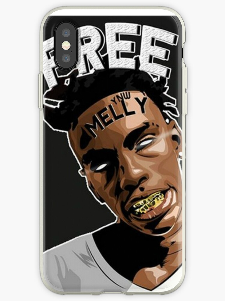 Ynw Melly Free Melly Iphone Case By Thegravhouse