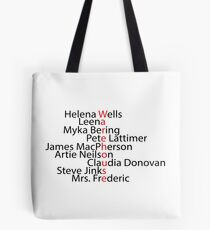 Warehouse 13 word art Tote Bag