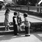 Kids Playing in Cuernavaca Mexico by Elena Vazquez