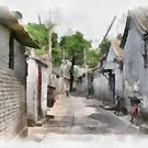 Hutongs, Beijing, China by Teresa Zieba