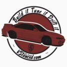 Build it. Tune it. Drift it. - Sticker by BBsOriginal