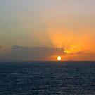 Hawaiian Sunset by Sandra Fortier