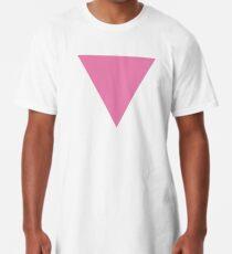 pink triangle Long T-Shirt