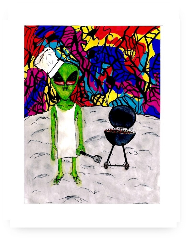 Spaceman Cookout by PerryCole