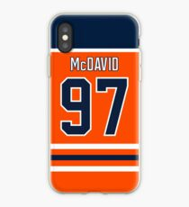 Edmonton Oilers Connor McDavid Home Jersey Back Phone Case iPhone Case