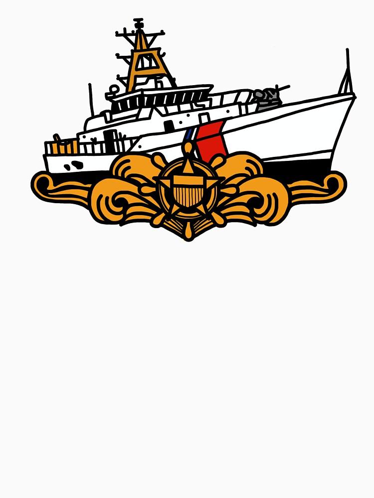 Coast Guard FRC Cutterman - Officer  by AlwaysReadyCltv