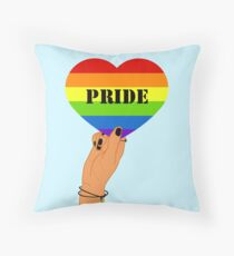 LGBTI Pride Throw Pillow