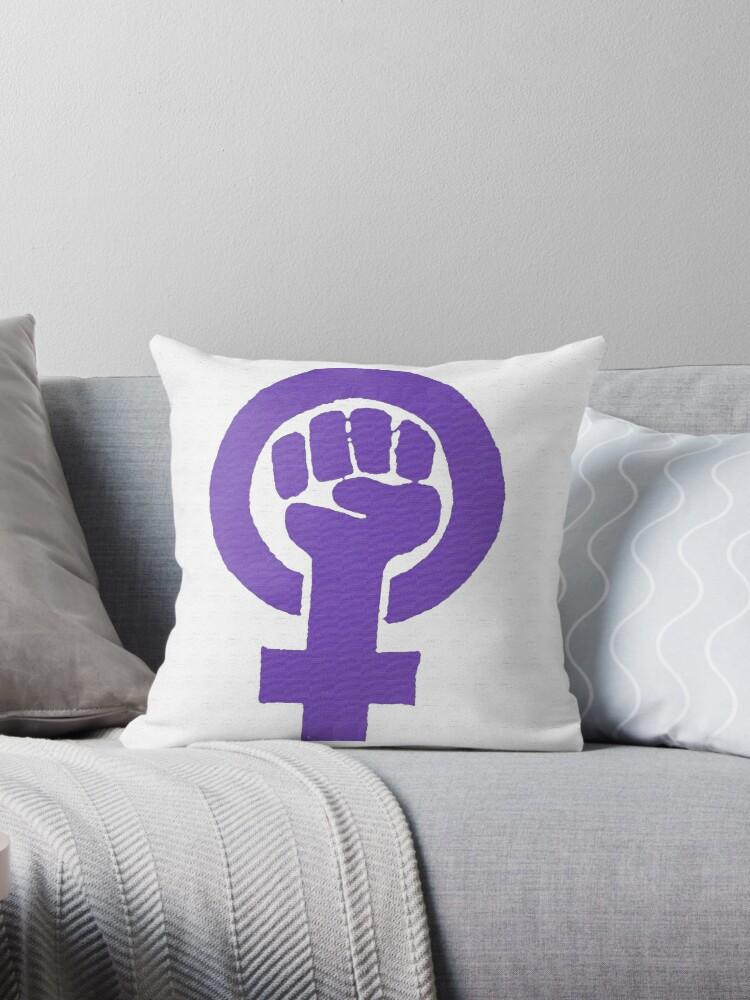 Feminist - Purple by Jenna Jade