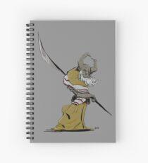 Horned Poleman Spiral Notebook