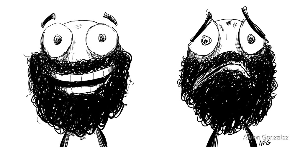Happy and Sad by Aaron Gonzalez