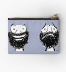 Happy and Sad Zipper Pouch