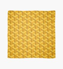 Yellow Goyard Scarf