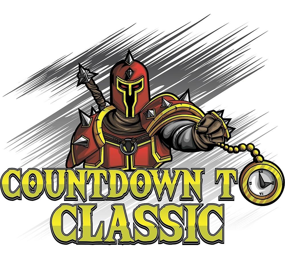 Countdown To Classic Merch (White) by joshcorbo82