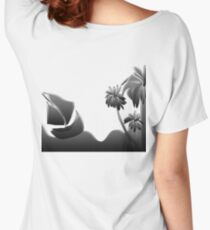 silver sea  Women's Relaxed Fit T-Shirt
