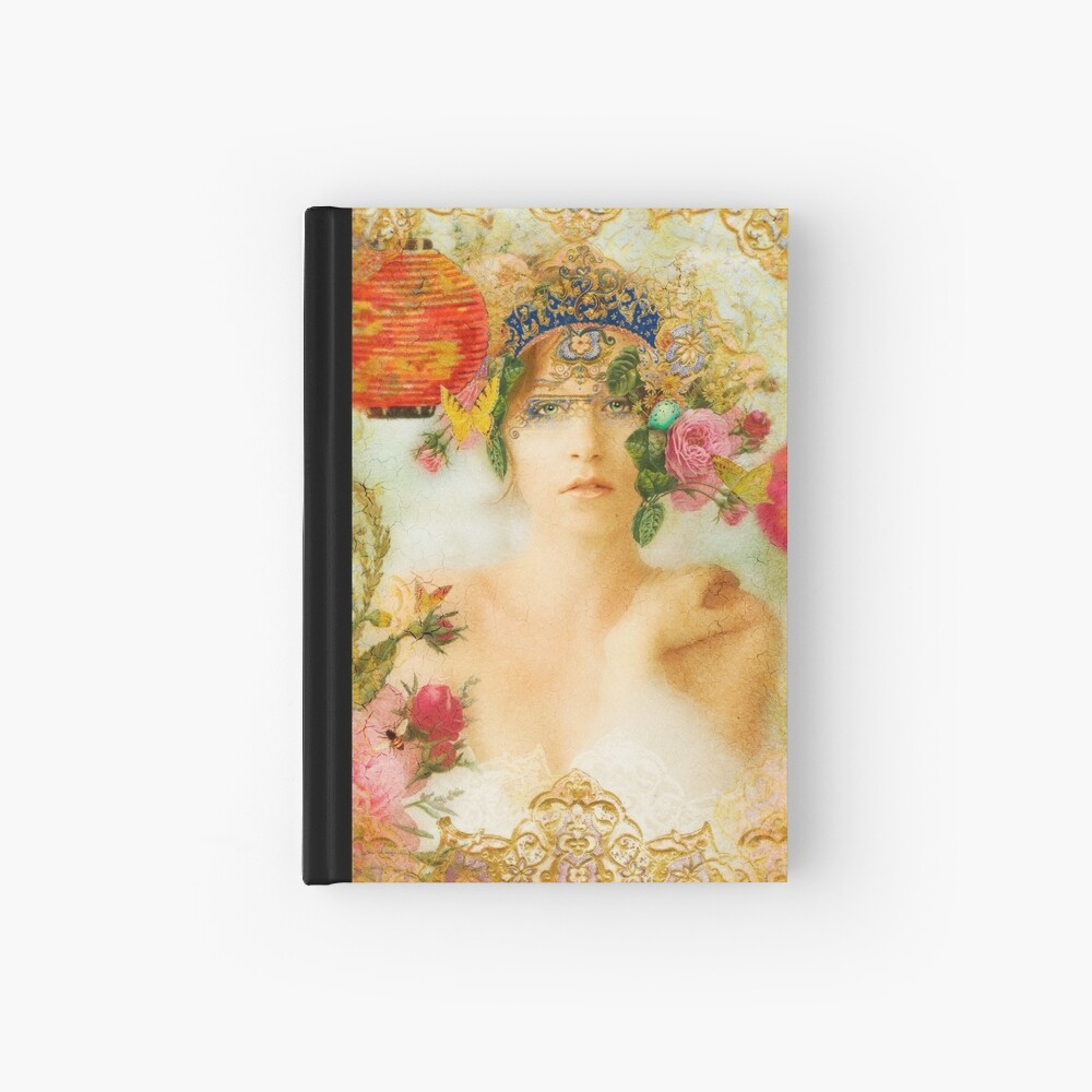 The Summer Queen Hardcover Journal