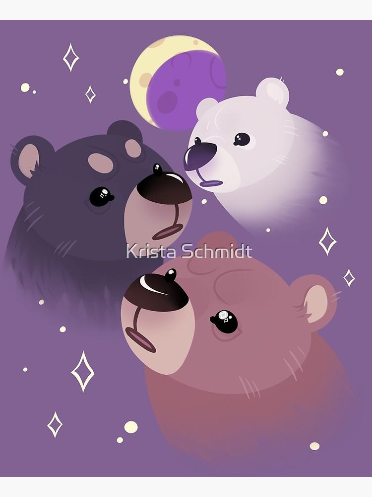 Three Bear Moon by Myss