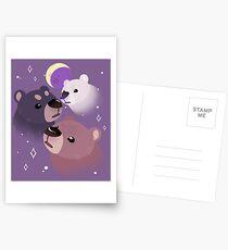 Three Bear Moon Postcards