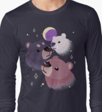 Three Bear Moon Long Sleeve T-Shirt