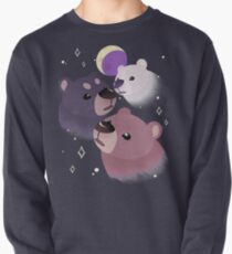 Three Bear Moon Pullover Sweatshirt