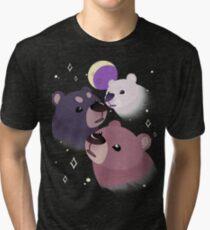 Three Bear Moon Tri-blend T-Shirt