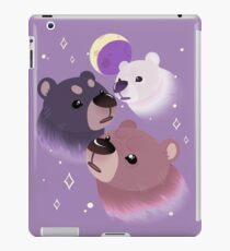 Three Bear Moon iPad Case/Skin