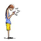 Texting by Aaron Gonzalez