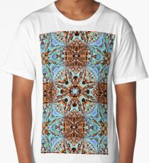 Shine with your own light - fractal pattern Long T-Shirt