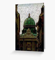 Hofburg:  Imperial Chapel Greeting Card