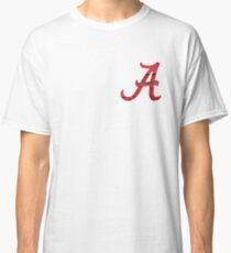 Alabama Crimson Wood Classic T-Shirt