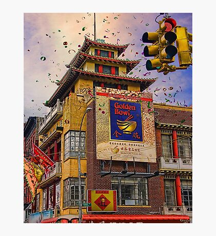 HAPPY CHINESE NEW YEAR Photographic Print