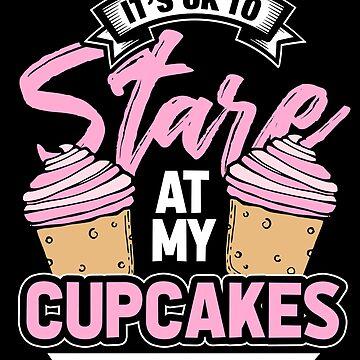 Baking cupcake by GeschenkIdee