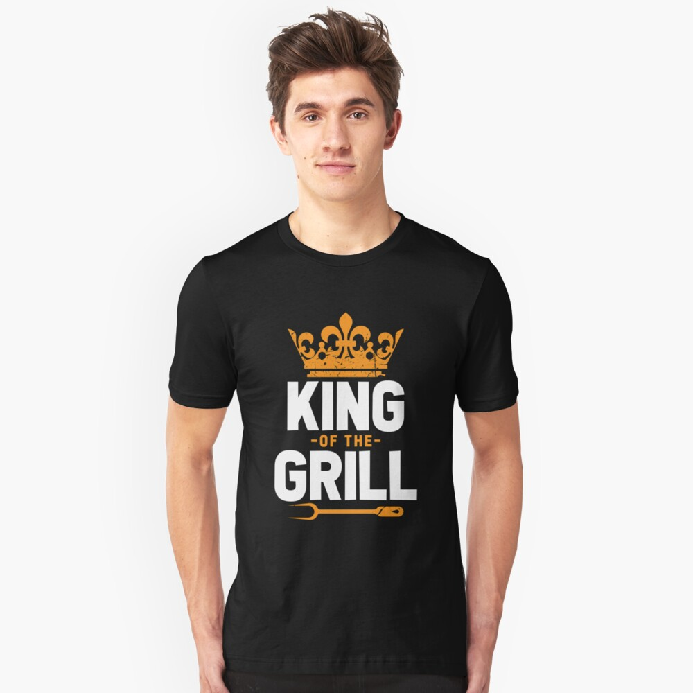 Grill king Unisex T-Shirt Front