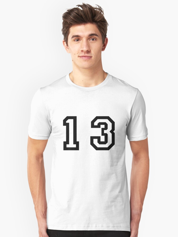 Number Thirteen Unisex T-Shirt Front
